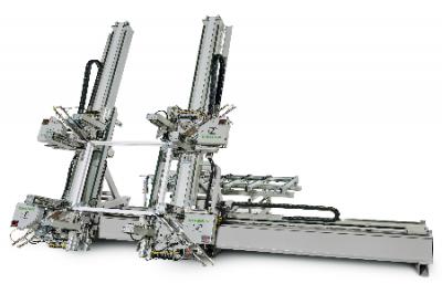 Masina de sudat verticala cu patru capete, tip AKS 8400